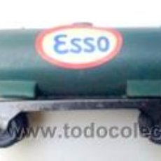 Trenes Escala: PAYA VAGON ESSO- 11,5 CMS + ENGANCHES -AÑOS 70- - VELL I BELL. Lote 61938555