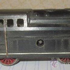 Trenes Escala: LOCOMOTORA 840 DE PAYÁ,A CUERDA,FUNCIONANDO,ESC HO,AÑOS 60. Lote 33681419