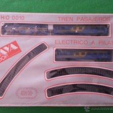 Trenes Escala: TREN PASAJEROS DE PAYA 0010 MADE IN SPAIN IBI. Lote 57123713
