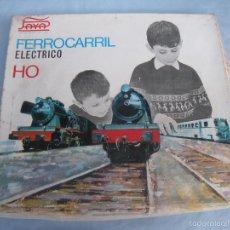 Trenes Escala: FERROCARRIL TREN ELÉCTRICO PAYÁ HO. Lote 57077120