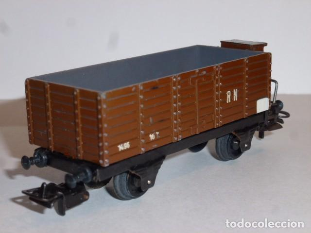 Trenes Escala: N007-Paya vagón de bordes altos Ep.III años 50 H0 - 1/87 - Foto 2 - 63151356