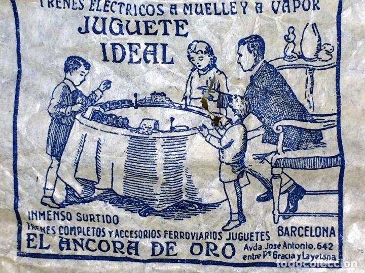 Trenes Escala: LOCOMOTORA LLAMADA COCODRILO. PAYÁ. CAJA ORIGINAL. ESPAÑA. CIRCA 1930 - Foto 4 - 69487069