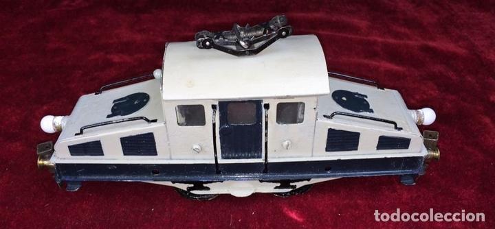 Trenes Escala: LOCOMOTORA LLAMADA COCODRILO. PAYÁ. CAJA ORIGINAL. ESPAÑA. CIRCA 1930 - Foto 7 - 69487069
