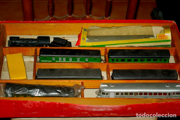 TREN PAYA ESCALA H0 1960 (Juguetes - Trenes a Escala H0 - Payá H0)
