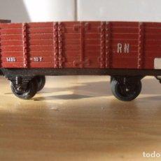 Trenes Escala: VGON CARGA PAYA ESCALA H0 BORDE ALTO CON GARITA. Lote 83972968