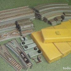 Trenes Escala: ENORME LOTE DE VIAS PAYA ESCALA S MUY RARAS DE VER MAS DE 23 METROS LINEALES. Lote 85159388
