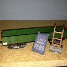 Trenes Escala: VAGON PAYA ESCALA H0 AÑOS 40. Lote 86853038