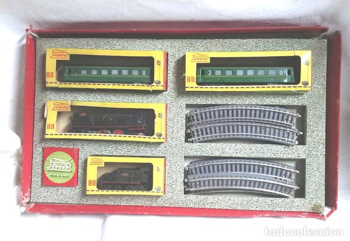 Trenes Escala: Tren de Paya 1681 años 50, Locomotora Tender 1401, 2 vagones pasajeros y 12 vias - Foto 2 - 87005080