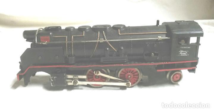 Trenes Escala: Tren de Paya 1681 años 50, Locomotora Tender 1401, 2 vagones pasajeros y 12 vias - Foto 6 - 87005080