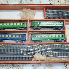 Trenes Escala: TREN ELÉCTRICO,PAYÁ,HO,CAJA ORIGINAL,FINALES AÑOS 50. Lote 94821511