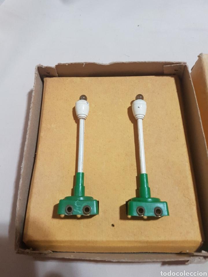 Trenes Escala: 2 farolas farola de calle para tren paya en su caja original - Foto 2 - 91945878