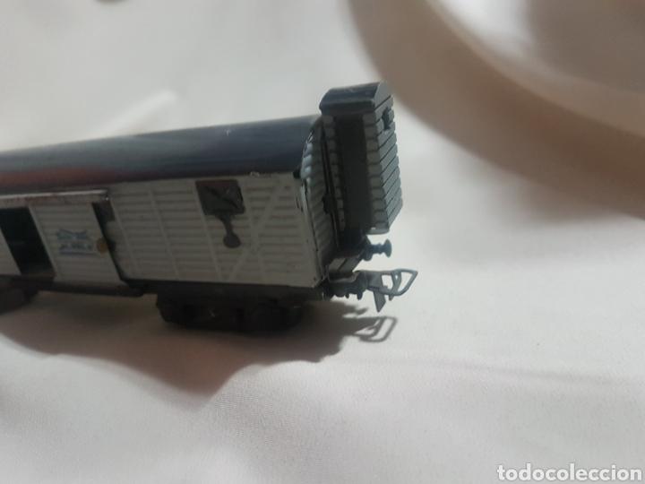 Trenes Escala: Vagón mercancías ganado tren paya escala ho h0 - Foto 3 - 92734754