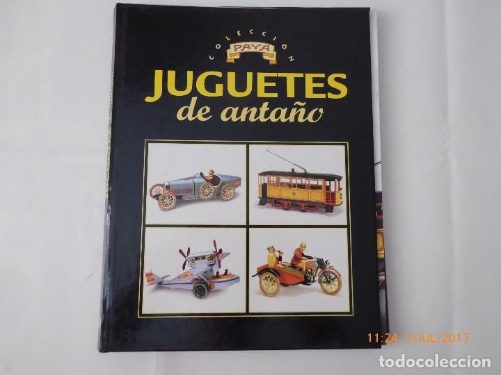 PAYA ,JUGUETES ANTIGUOS, FASCICULOS 1 AL 11, FALTA EL 9, CON TAPAS, (Juguetes - Trenes a Escala H0 - Payá H0)