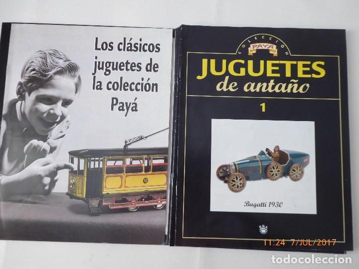 Trenes Escala: paya ,juguetes antiguos, fasciculos 1 al 11, falta el 9, con tapas, - Foto 2 - 92925465