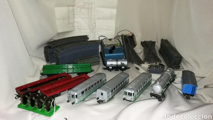 Trenes Escala: Tren paya ferrobus . El abuelo . Renfe . 1955 . Escala H0 . Ver y leer . - Foto 2 - 110584576