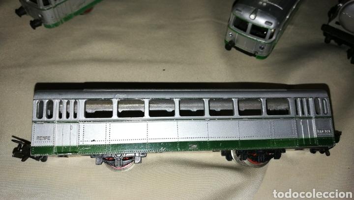 Trenes Escala: Tren paya ferrobus . El abuelo . Renfe . 1955 . Escala H0 . Ver y leer . - Foto 9 - 110584576