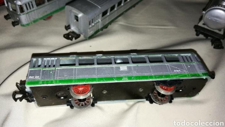 Trenes Escala: Tren paya ferrobus . El abuelo . Renfe . 1955 . Escala H0 . Ver y leer . - Foto 10 - 110584576