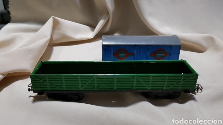 Trenes Escala: Tren paya ferrobus . El abuelo . Renfe . 1955 . Escala H0 . Ver y leer . - Foto 15 - 110584576