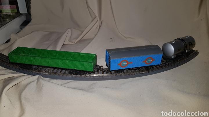 Trenes Escala: Tren paya ferrobus . El abuelo . Renfe . 1955 . Escala H0 . Ver y leer . - Foto 17 - 110584576