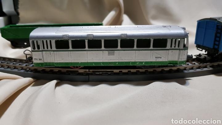 Trenes Escala: Tren paya ferrobus . El abuelo . Renfe . 1955 . Escala H0 . Ver y leer . - Foto 18 - 110584576