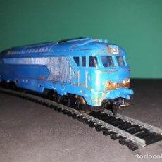 Trenes Escala: LOCOMOTORA PAYA HO. 67000,MADE IN SPAIN.FUNCCIONABLE,VER FOTOS. Lote 113121015