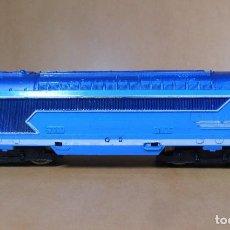 Trenes Escala: PAYA H0 - LOCOMOTORA DIESEL SNCF 67000 - LUZ FRONTAL Y CABINA. Lote 113389487