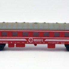Trenes Escala: VAGON PASAJEROS RENFE - PAYA - MADE IN SPAIN - ESCALA H0. Lote 115572975