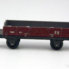 Trenes Escala: VAGON DE CARGA O MERCANCÍAS 1493 10T RN - PAYA - ESCALA H0. Lote 115576915