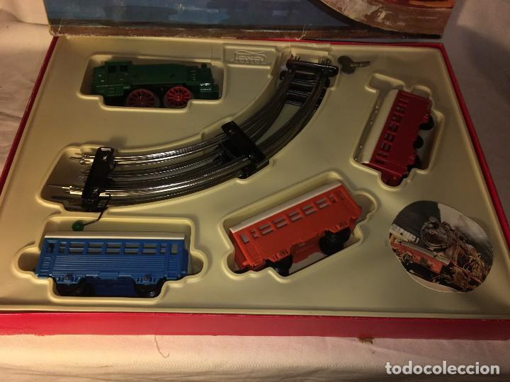 Trenes Escala: ANTIGUO TREN PAYA EN SU CAJA ORIGINAL,AÑOS 70 - Foto 2 - 116149111