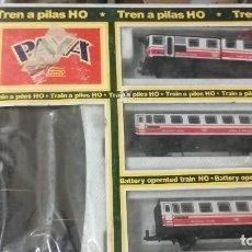 Trenes Escala: TREN A PILAS HO PAYA. Lote 121095943