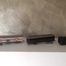 Trenes Escala: LOTE VAGONES Y TENDER PAYA ESCALA H0. Lote 121463391