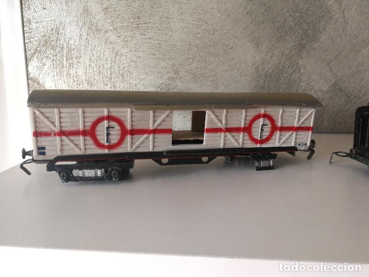 Trenes Escala: LOTE VAGONES Y TENDER PAYA ESCALA H0 - Foto 2 - 121463391