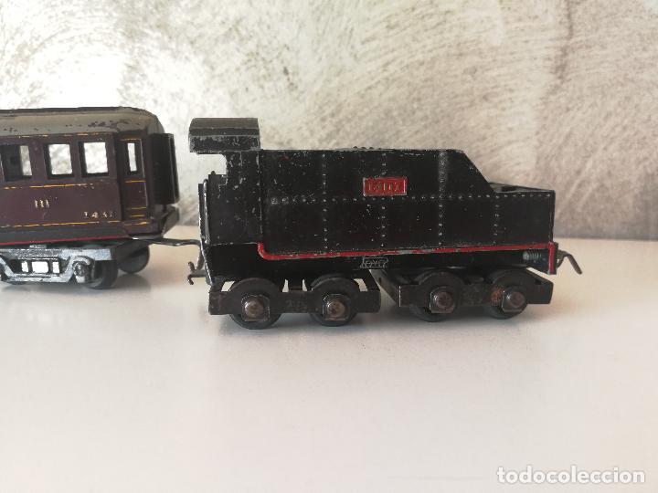 Trenes Escala: LOTE VAGONES Y TENDER PAYA ESCALA H0 - Foto 4 - 121463391