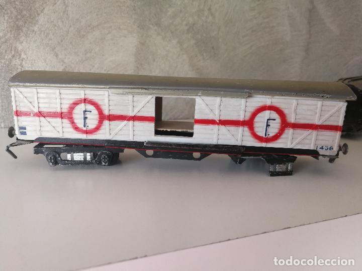 Trenes Escala: LOTE VAGONES Y TENDER PAYA ESCALA H0 - Foto 15 - 121463391