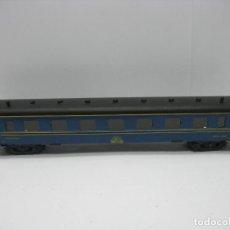 Trenes Escala: PAYA - ANTIGUO COCHE CAMA CAMAS 3010 DE CHAPA - ESCALA H0. Lote 123114371