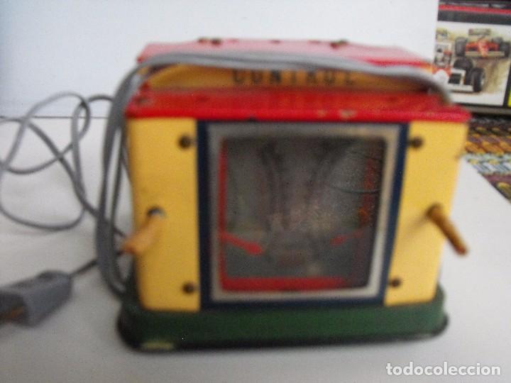 Trenes Escala: Tren eléctrico PAYA en maletín de madera. Años 40-50. - Foto 3 - 127839603
