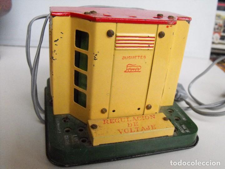 Trenes Escala: Tren eléctrico PAYA en maletín de madera. Años 40-50. - Foto 4 - 127839603