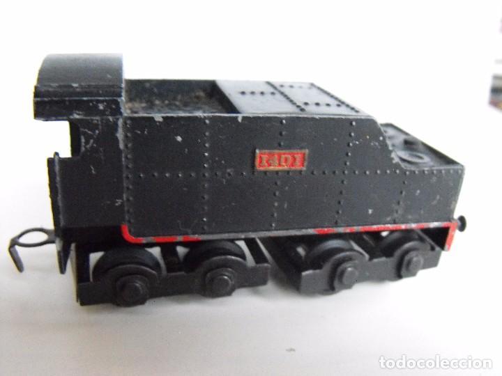Trenes Escala: Tren eléctrico PAYA en maletín de madera. Años 40-50. - Foto 6 - 127839603