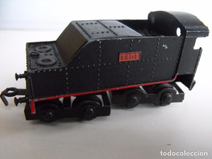 Trenes Escala: Tren eléctrico PAYA en maletín de madera. Años 40-50. - Foto 7 - 127839603