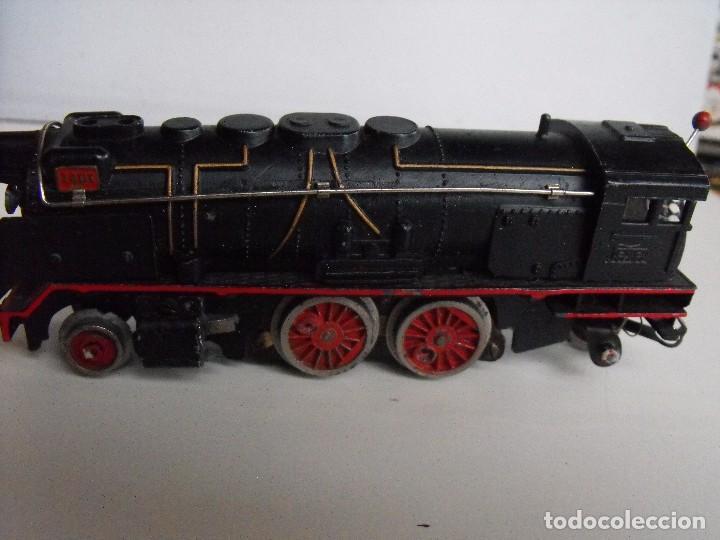 Trenes Escala: Tren eléctrico PAYA en maletín de madera. Años 40-50. - Foto 9 - 127839603