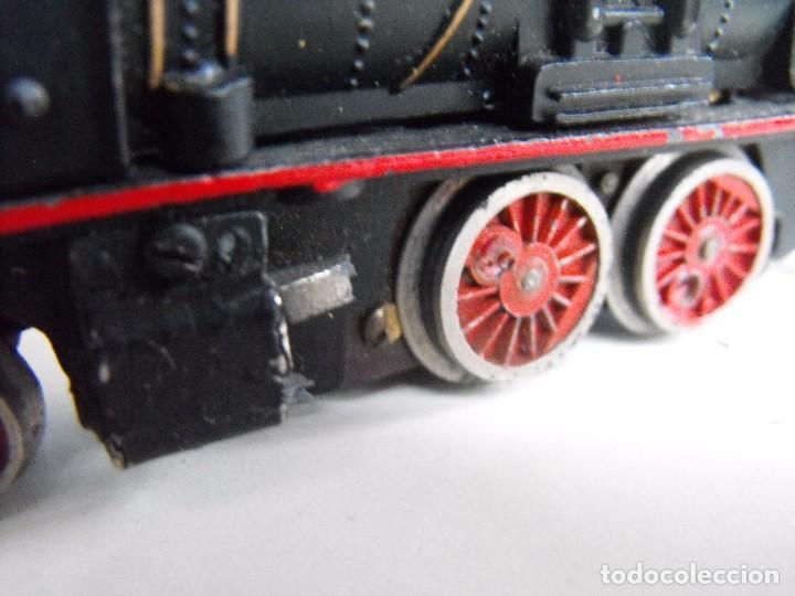 Trenes Escala: Tren eléctrico PAYA en maletín de madera. Años 40-50. - Foto 10 - 127839603