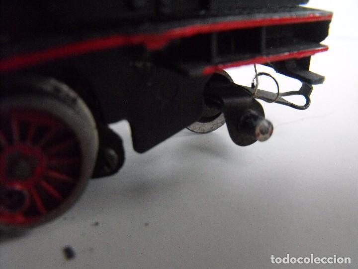 Trenes Escala: Tren eléctrico PAYA en maletín de madera. Años 40-50. - Foto 11 - 127839603