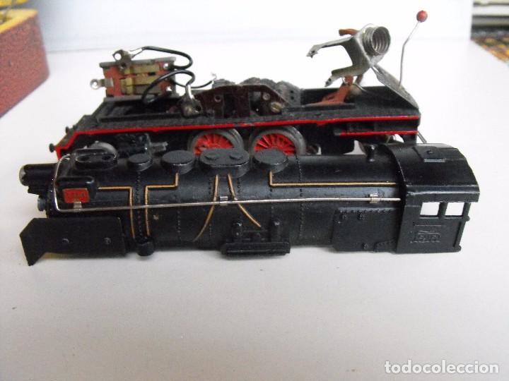 Trenes Escala: Tren eléctrico PAYA en maletín de madera. Años 40-50. - Foto 15 - 127839603