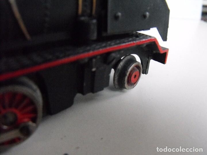 Trenes Escala: Tren eléctrico PAYA en maletín de madera. Años 40-50. - Foto 17 - 127839603