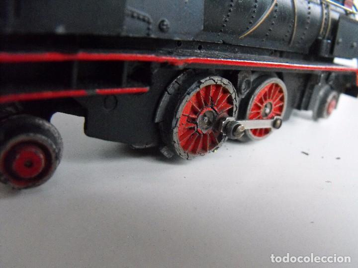 Trenes Escala: Tren eléctrico PAYA en maletín de madera. Años 40-50. - Foto 18 - 127839603