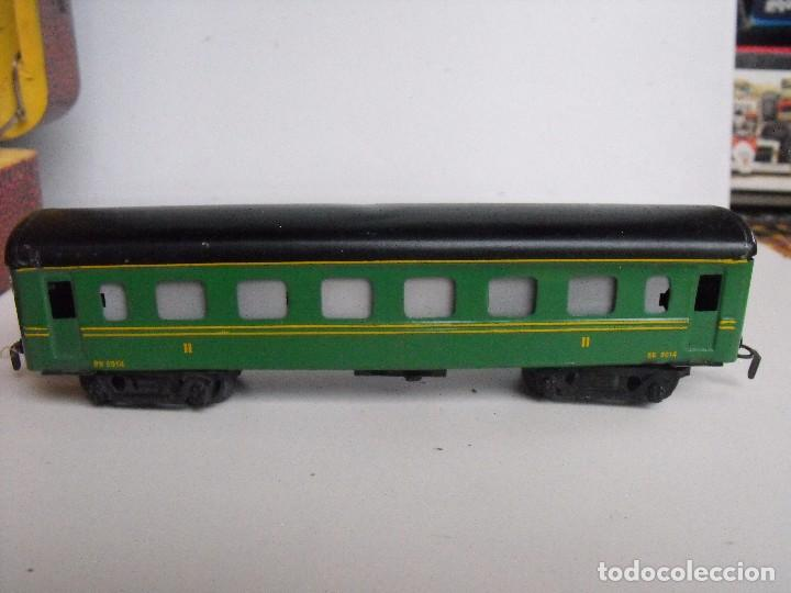 Trenes Escala: Tren eléctrico PAYA en maletín de madera. Años 40-50. - Foto 19 - 127839603