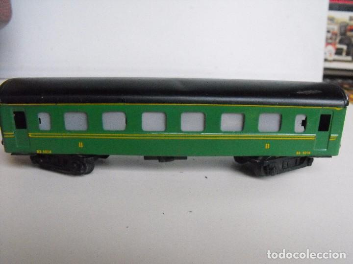 Trenes Escala: Tren eléctrico PAYA en maletín de madera. Años 40-50. - Foto 20 - 127839603