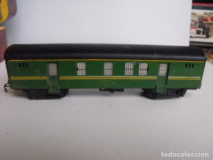 Trenes Escala: Tren eléctrico PAYA en maletín de madera. Años 40-50. - Foto 23 - 127839603