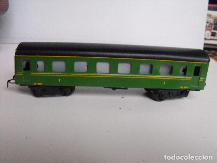 Trenes Escala: Tren eléctrico PAYA en maletín de madera. Años 40-50. - Foto 29 - 127839603