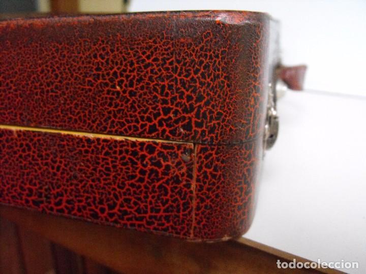 Trenes Escala: Tren eléctrico PAYA en maletín de madera. Años 40-50. - Foto 35 - 127839603